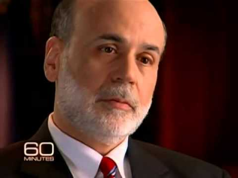 Bernanke on taxpayer's money for the bailouts.