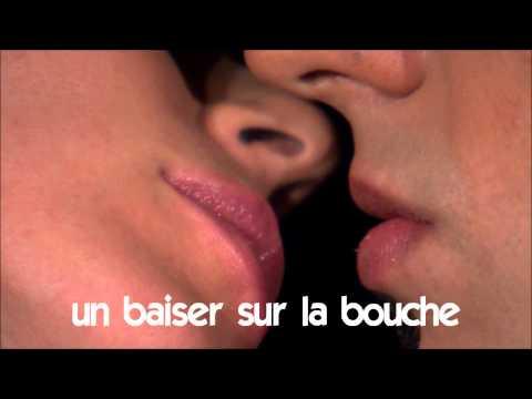 Французский язык для начинающих # Vocabulaire # Un Baiser Sur La Bouche