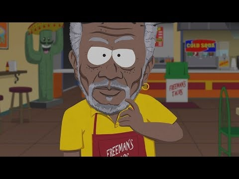 South Park: The Fractured But Whole - Morgan Freeman Secret Boss Fight