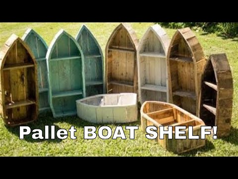 How to make a boat shelf from reclaimed pallet wood