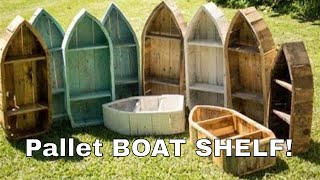 A design I came up with one day when a customer asked me for a boat shelf from reclaimed wood. I