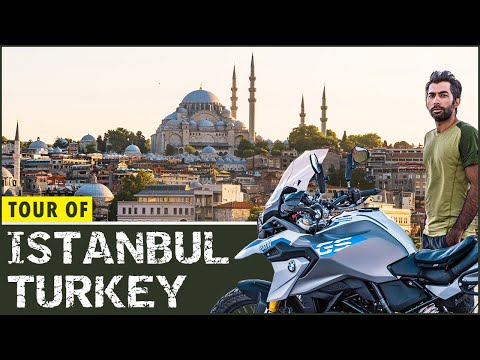 Tour of Istanbul Turkey Ep. 25 | Motorcycle Tour From Germany to Pakistan and India on BMW G310GS