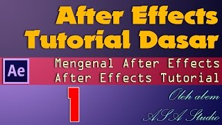 After Effects Video Tutorial Paket Dasar