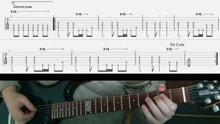 Gambar cover Metallica Fade To Black tab & lesson the riffs