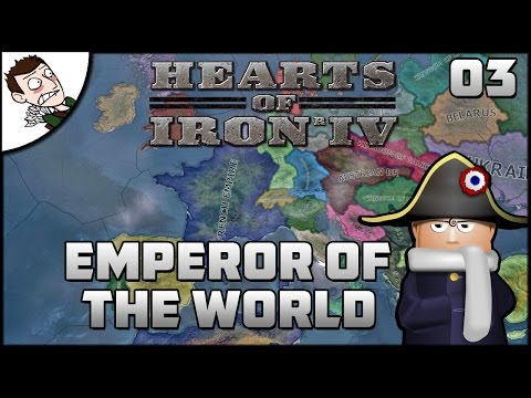 WAR WITH AUSTRIA - Hearts of Iron 4 Mod (Emperor of the World) Gameplay Part 3!