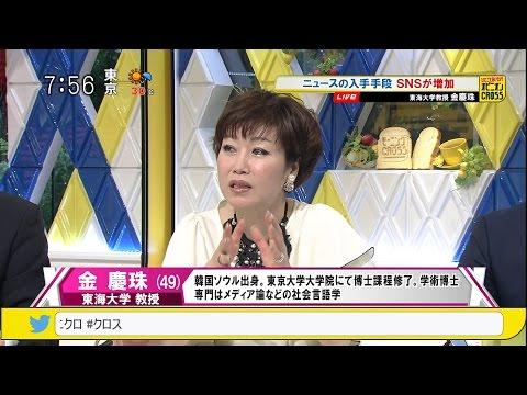 金慶珠「ネットニュース」 ニュースの入手手段 SNSが増加~あなたがニュースを知るきっかけで一番多いのは? [モーニングCROSS]