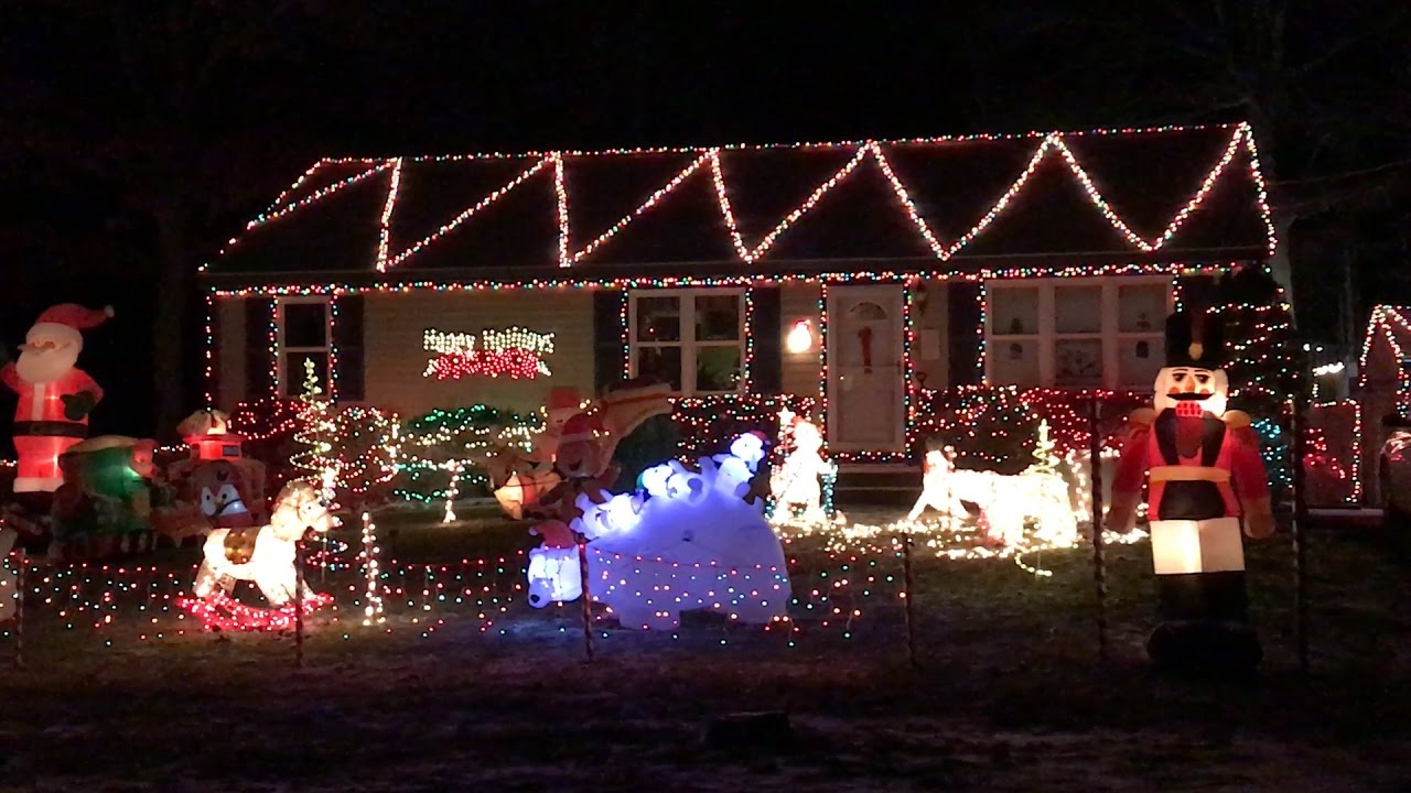 5 great holiday light displays on cape cod