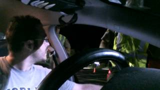 Cop Loses Mind At Unconstitutional Checkpoint (Edited)