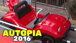 Autopia FULL RIDE on re-opening day after refurbishment at Disneyland 2016