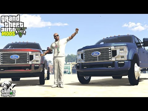 2020 Ford F-350 King Ranch Dually (Car Showcase #63) GTA 5 MODS