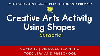 Montessori Sensorial Presentation - Creative Arts Activity Using Shapes