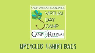 Craft: Learn To Make An Upcycled T-Shirt Bag