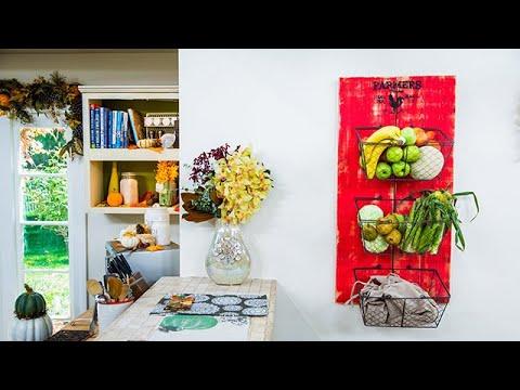 Diy Fall Bounty Produce Rack Home