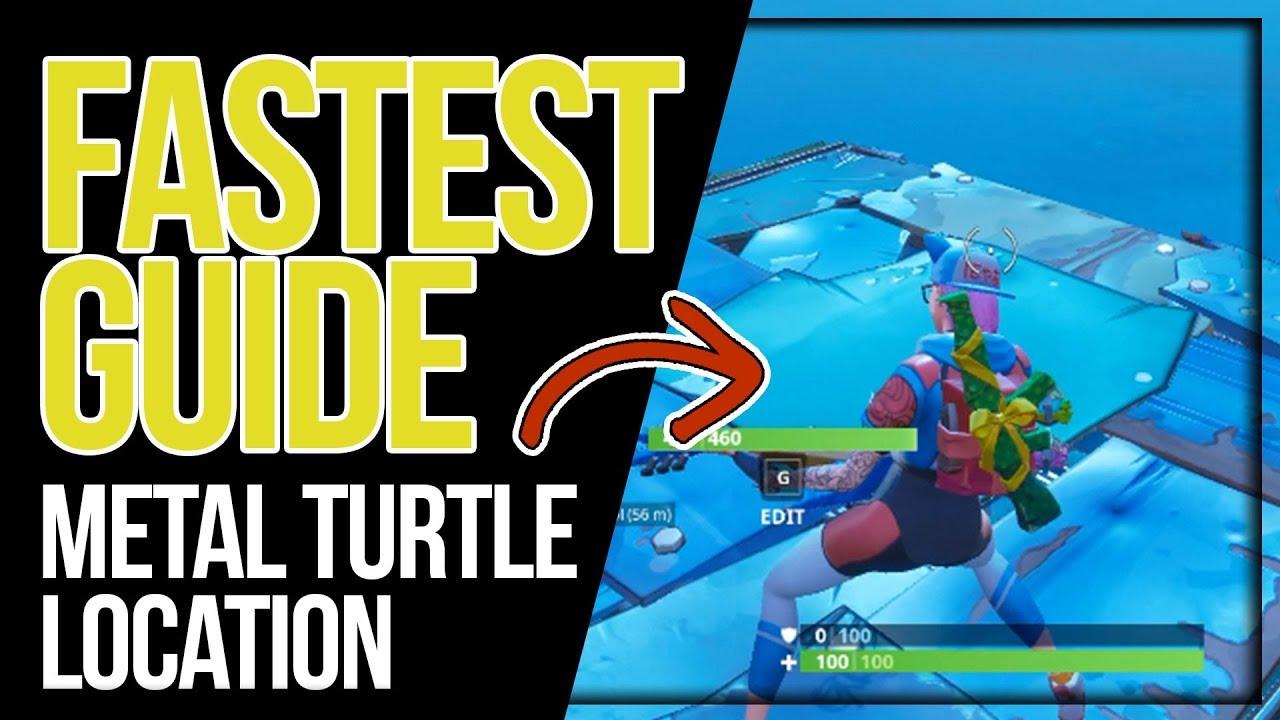 Stage 2 Dance On Top Of A Metal Turtle Fortnite Week 1 Season 7