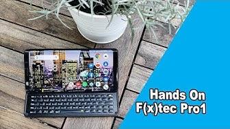 FX Tec Pro 1: Die Rückkehr der vollen QWERTZ Smartphone Tastatur   IFA 2019   deutsch