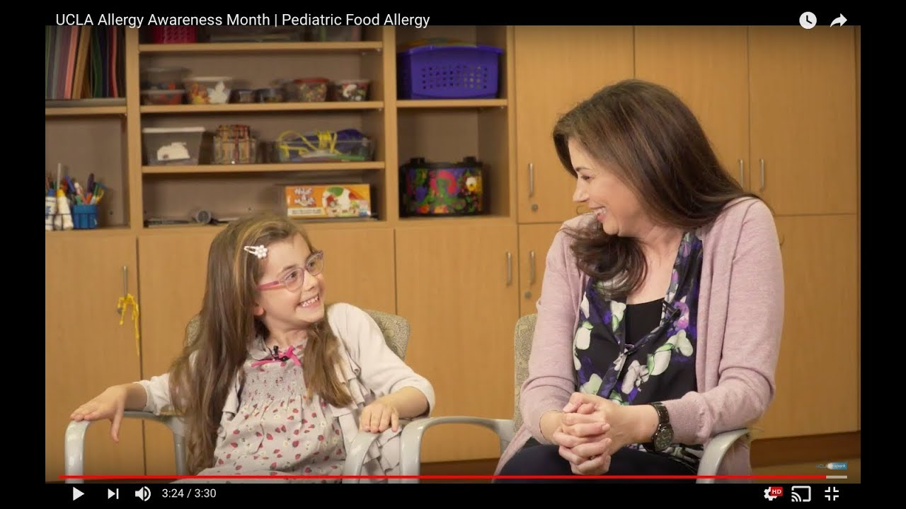 Past Projects | UCLA Allergy Awareness Month | Pediatric