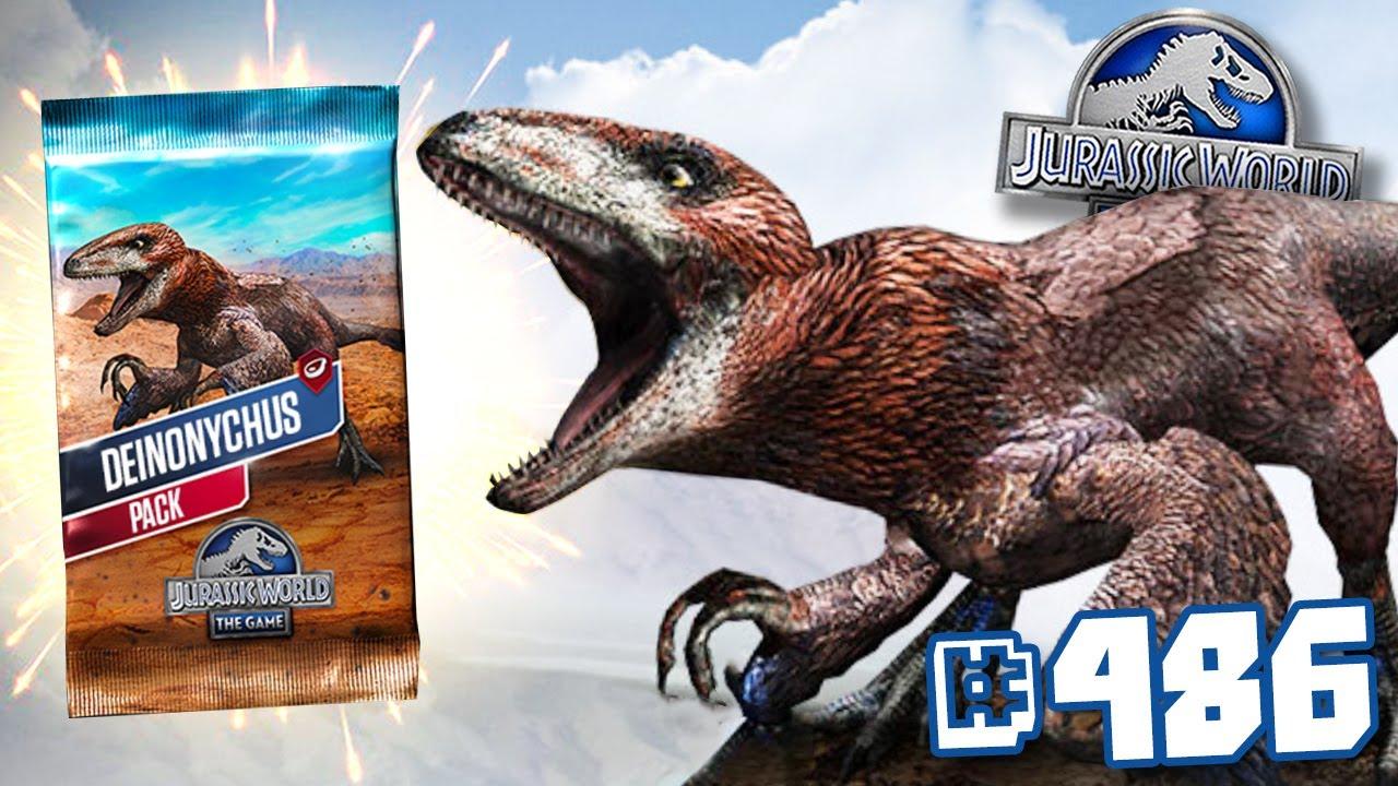 Download DEINONYCHUS TOURNAMENT!!! | Jurassic World - The Game - Ep486 HD