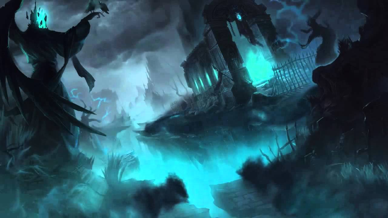 harrowing 2014 halloween league of legends login screen with music youtube