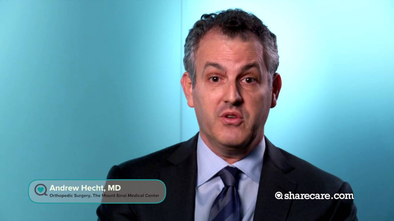 Dr  Andrew Hecht on Lumbar Spine Surgery