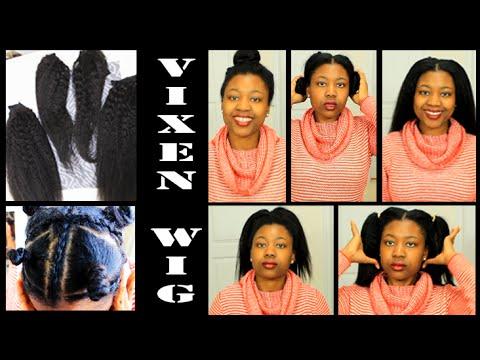 Vixen Sew In Wig 5min Self Install Abbyliciouz Youtube