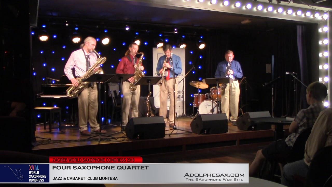 Cuidado by Mark Watkins   Four Saxophone Quartet   XVIII World Sax Congress 2018 #adolphesax