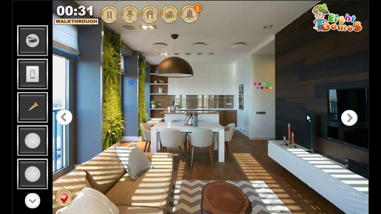 Modern club house escape walkthrough eightgames youtube for Minimalistic house escape 5 walkthrough