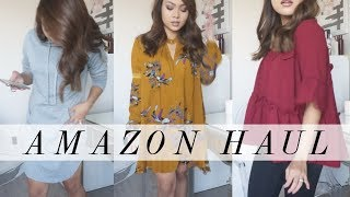 TRY ON Amazon HAUL! (Thoughts, expectations, fail!?)