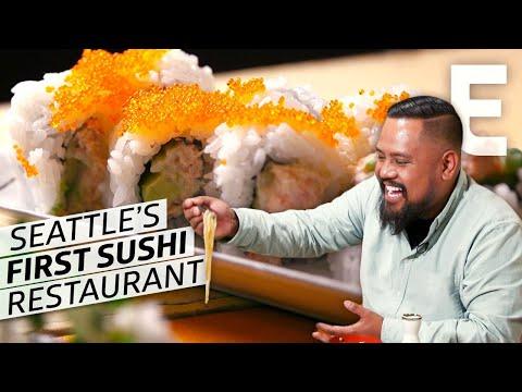 Making Sushi and Sukiyaki at Seattle's Oldest Sushi Restaurant — Cooking in America
