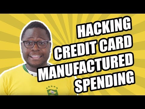 Earning Credit Card Rewards with Manufactured Spending