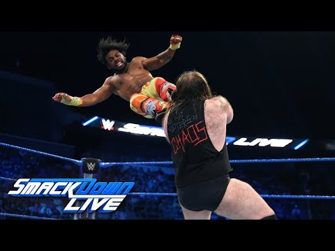 The New Day vs. SAnitY: SmackDown LIVE, July 24, 2018
