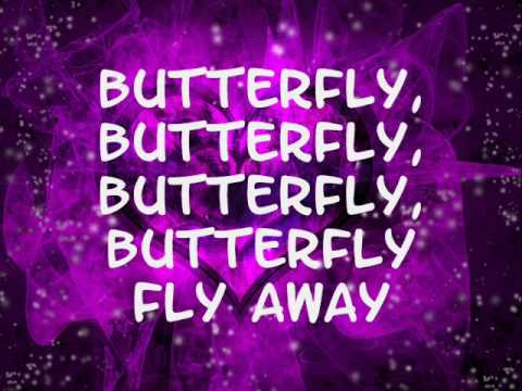 Miley Cyrus- Butterfly fly away (lyrics)