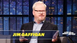 Jim Gaffigan Ate Reindeer in Scandinavia