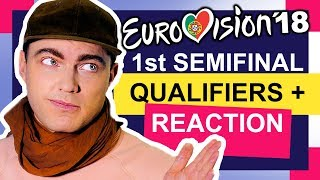 Eurovision 2018: Media expert reaction to rehearsals of FIRST Semi-Final (Qualifiers prediction)