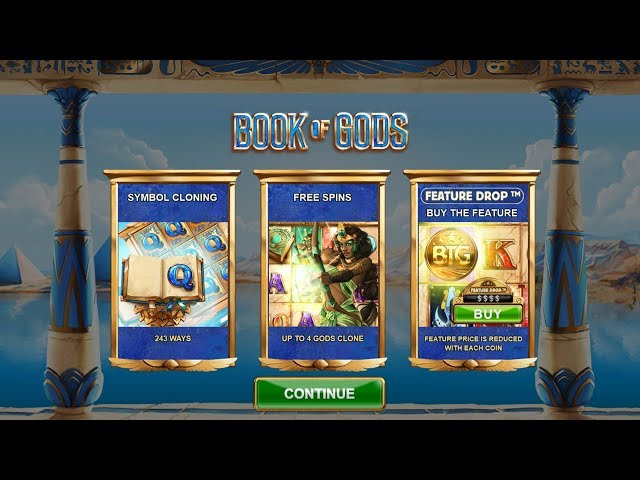 NEW SLOT: BOOK OF GODS (BIG TIME GAMING)