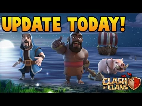 Thumbnail: Clash of Clans Update TODAY!!! What's Coming + New Features! CoC Update Release Date 100% Confirmed
