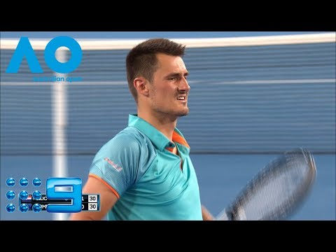 Australian Open Highlights: Cilic V Tomic - Round 1/Day 1 | Wide World Of Sports