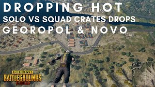 Drop Hot PUBG Mobile Solo Vs Squad Gameplay Tips & Tricks