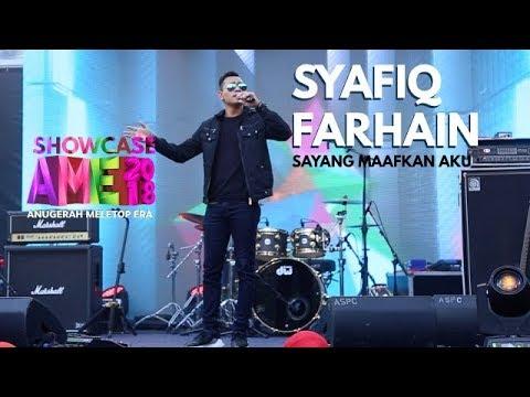 Showcase AME2018 - Syafiq Farhain : Sayang Maafkan Aku