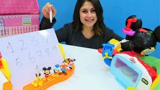 Ayşe'nin oyuncak kreşi - Mickey Mouse ve Minnie Mouse!