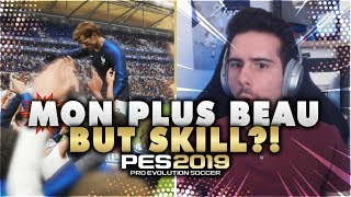 MON PLUS BEAU BUT SKILL?! - PES2019 Demo Gameplay