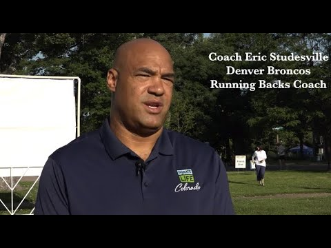 Eric Studesville - Denver Broncos Running Backs Coach