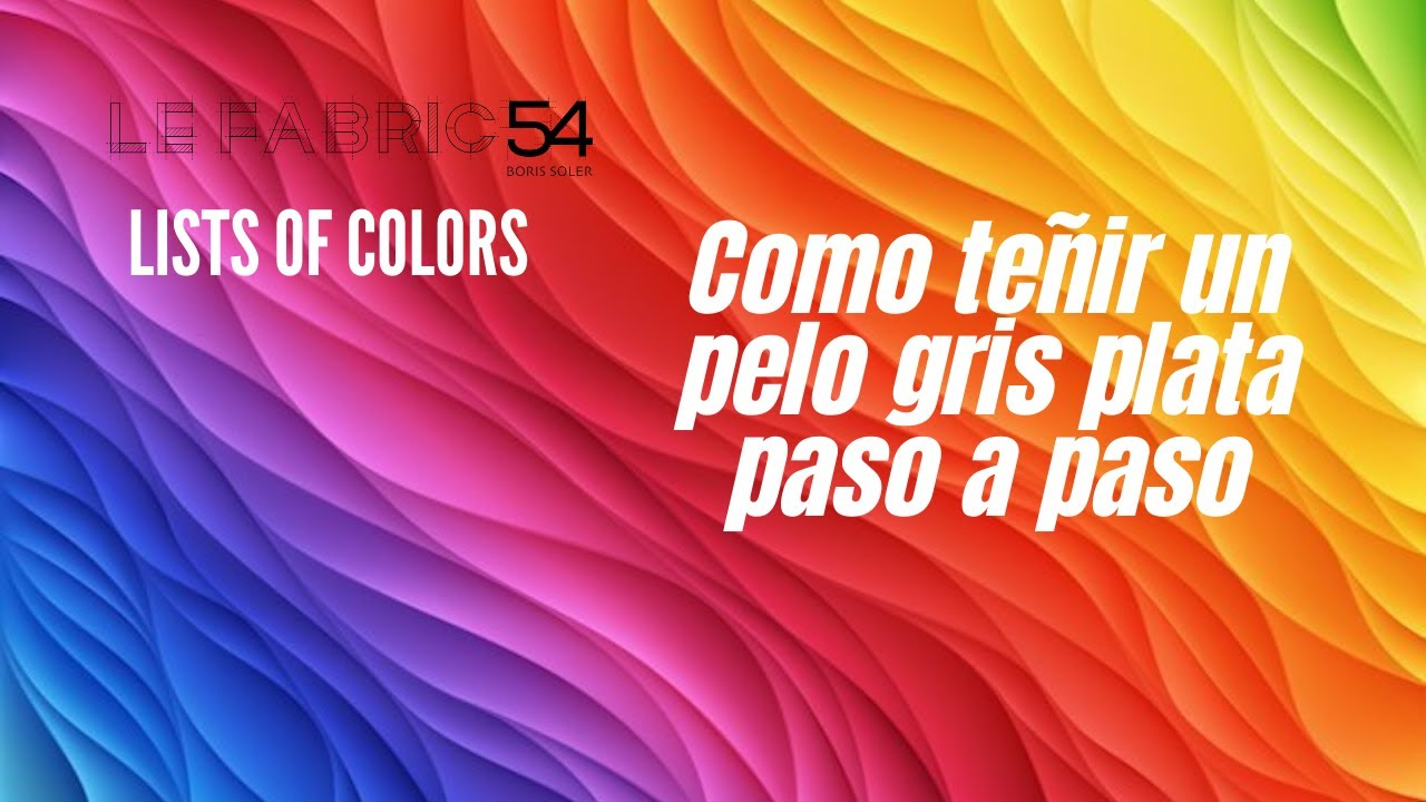 Como teñir un pelo gris plata paso a paso , How To Dye Your Hair Gray/Silver , YouTube