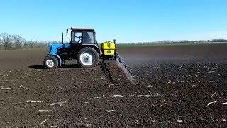 видео опрыскиватели навесные для трактора