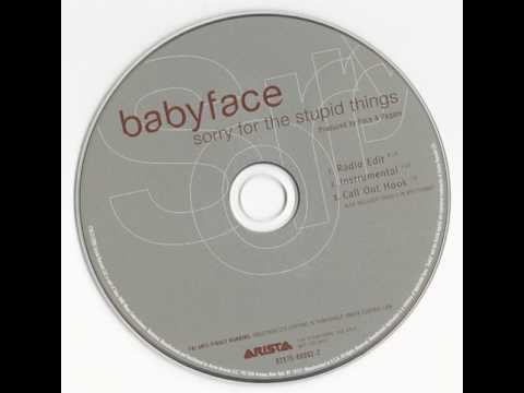 Babyface - Sorry For The Stupid Things (Instrumental)