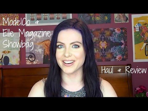 ModelCo & Elle Magazine Showbag Review