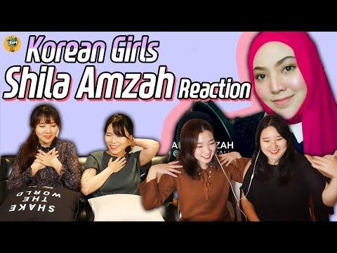 Korean Girls React to Shila Amzah !!!!! Finally!!!!!