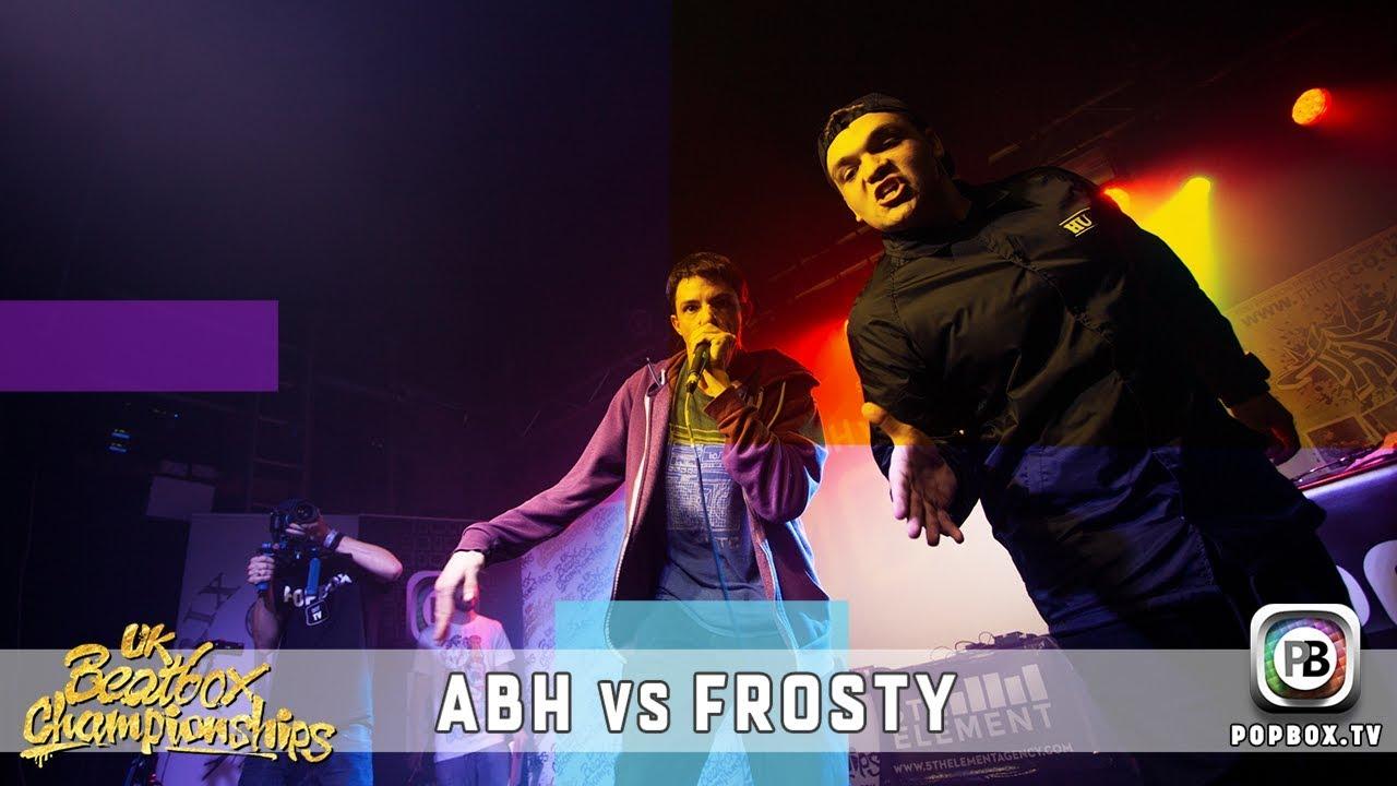 ABH vs Frosty   Solo Semi Final   2017 UK Beatbox Championships