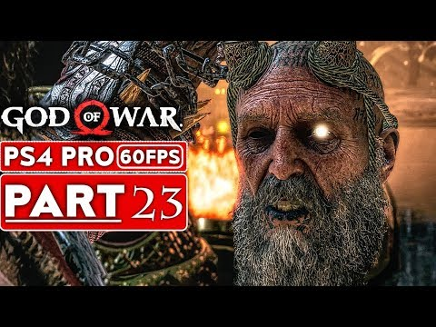 GOD OF WAR 4 Gameplay Walkthrough Part 23 [1080p HD 60FPS PS4 PRO] - No Commentary