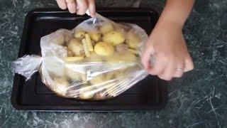 Картофель фаршированный фаршем Объедение