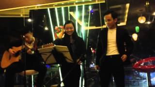 CHÚC EM NGỦ NGON - SONG CA NAM NỮ -GUITAR COVER HỢP ÂM CỰC CHUẨN (THANH SAO FT MỸ LINH)